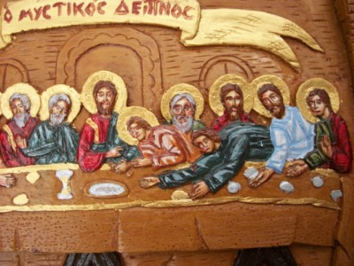 The Last Supper Hand Painted Plaque