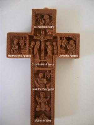 Aromatic Wall Crucifix