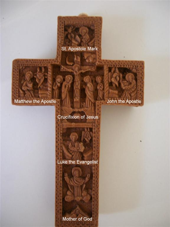 Aromatic Wall Crucifix