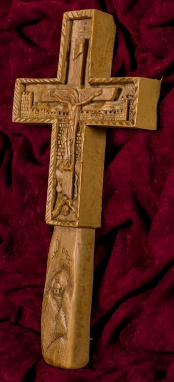 Blessing Cross Mount Athos